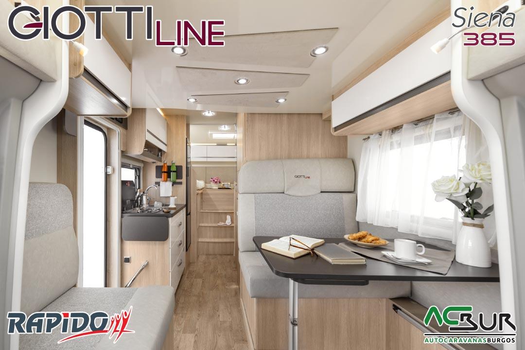 GiottiLine Siena 385 2022 interior