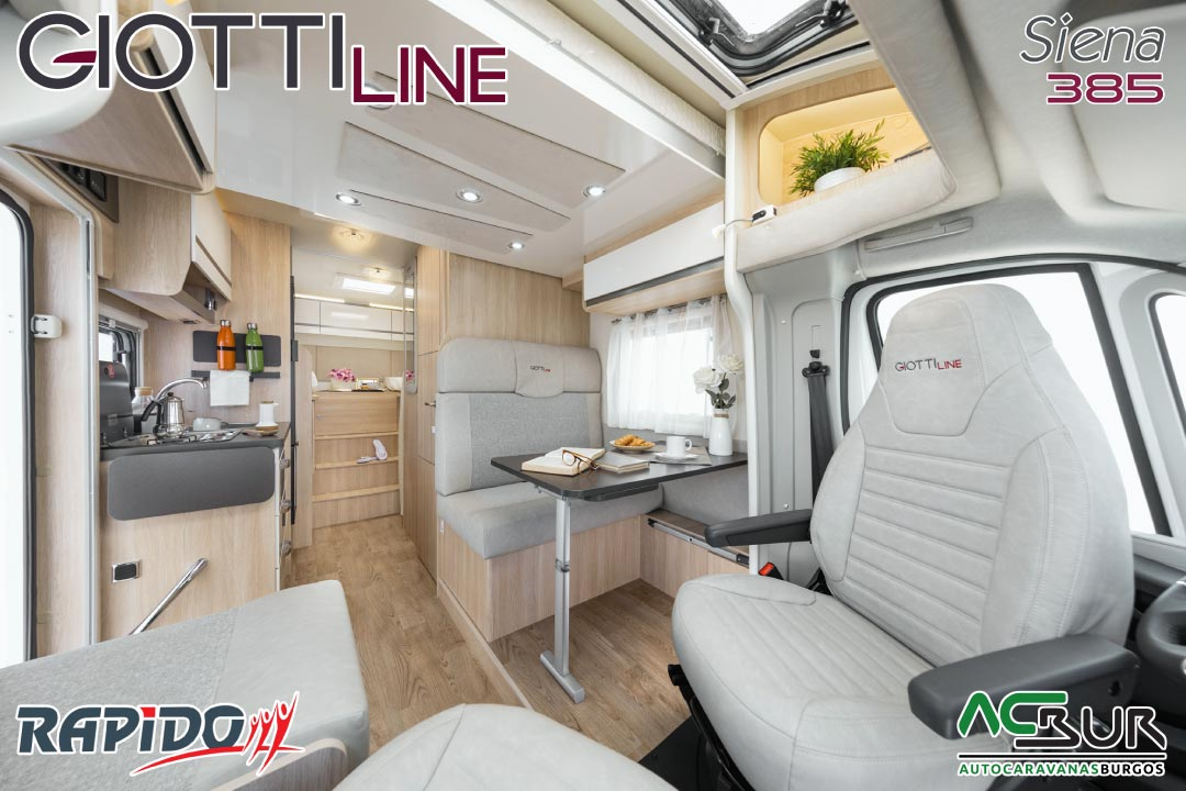 GiottiLine Siena 385 2022 comedor