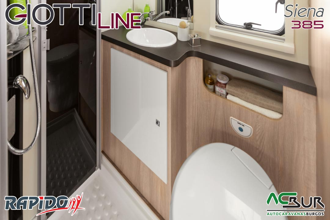 GiottiLine Siena 385 2022 baño