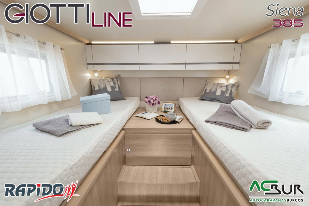 GiottiLine Siena 385 2022 dormitorio