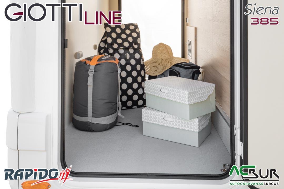 GiottiLine Siena 385 2022 garaje