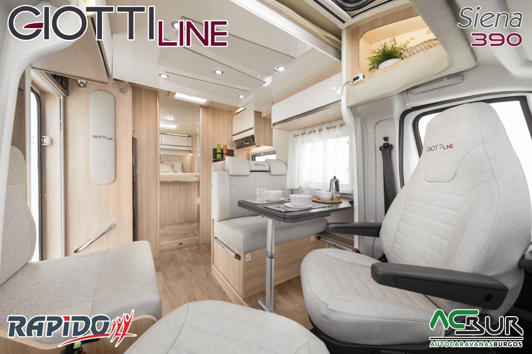 GiottiLine Siena 390 2022 interior
