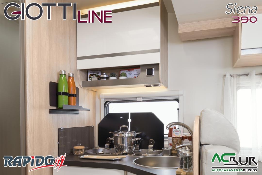 GiottiLine Siena 390 2022 cocina