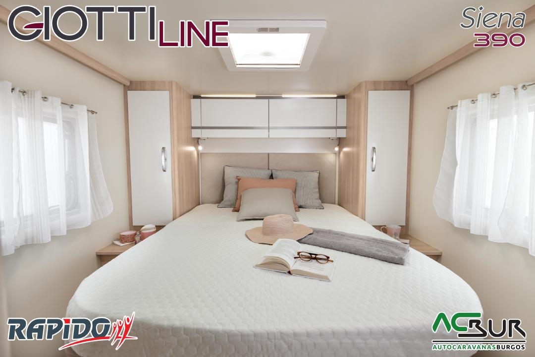 GiottiLine Siena 390 2022 dormitorio