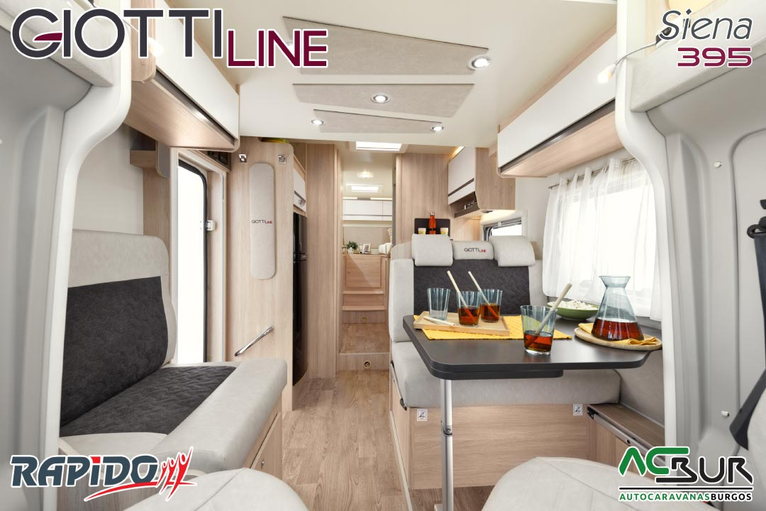 GiottiLine Siena 395 2022 interior
