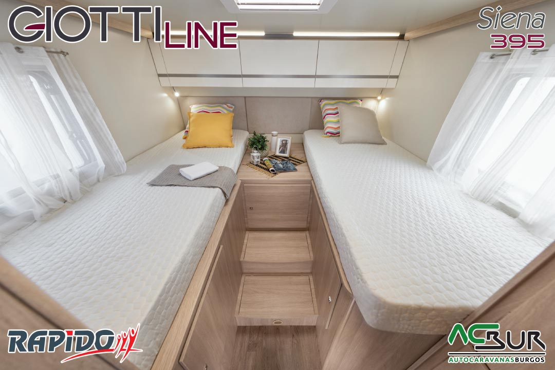GiottiLine Siena 395 2022 dormitorio