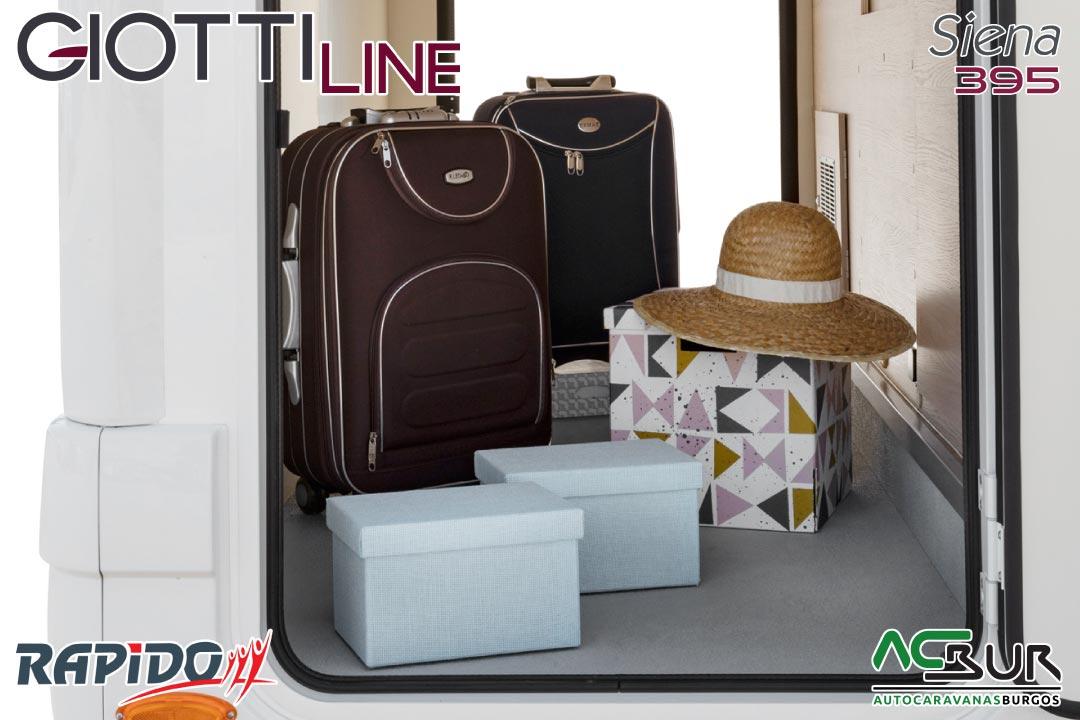 GiottiLine Siena 395 2022 garaje