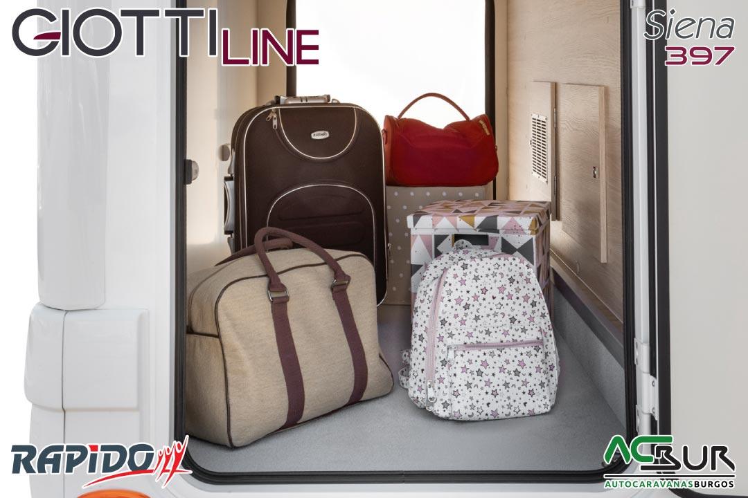 GiottiLine Siena 397 2022 garaje