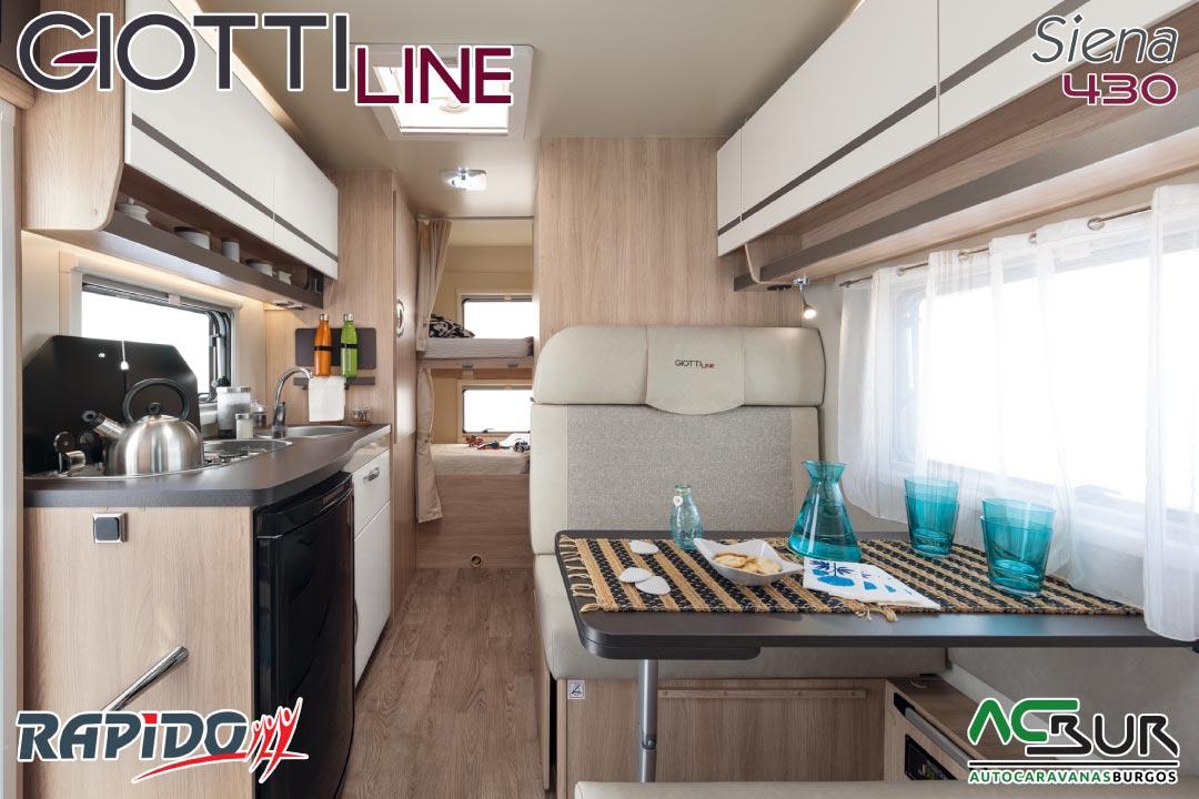 GiottiLine Siena 430 2022 interior