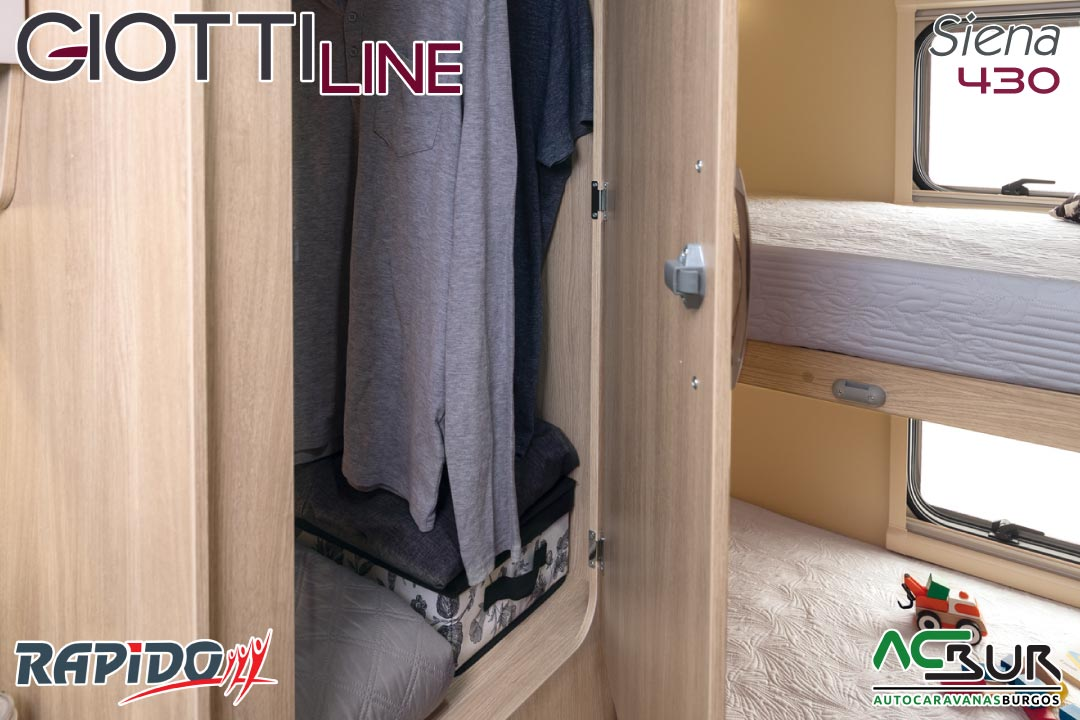 GiottiLine Siena 430 2022 guardarropa