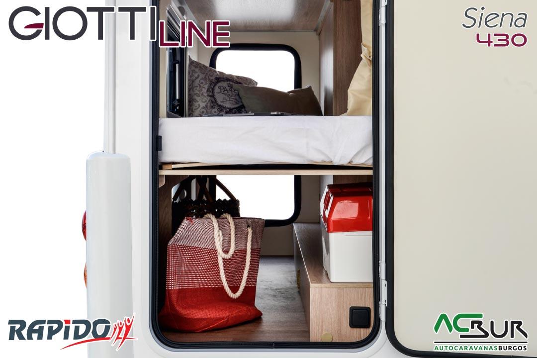 GiottiLine Siena 430 2022 garaje