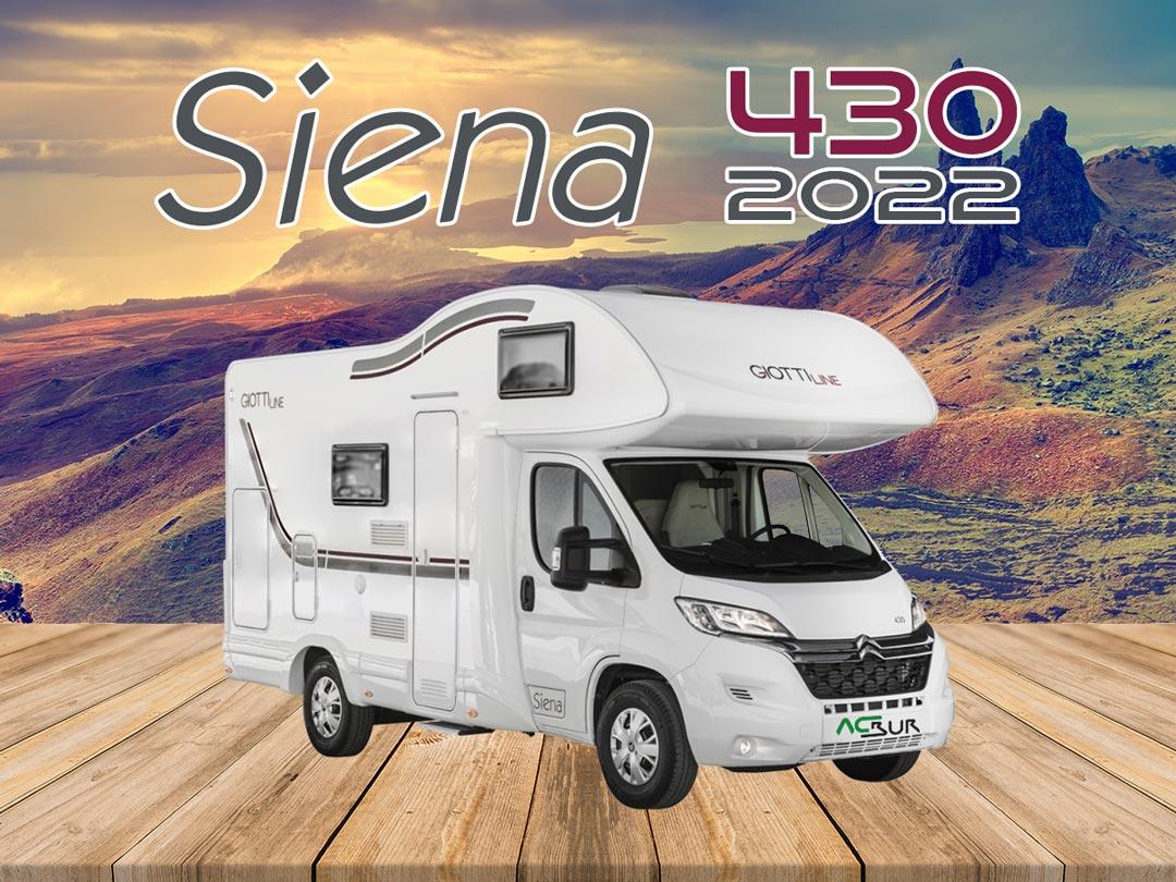 GiottiLine Siena 430 2022 portada
