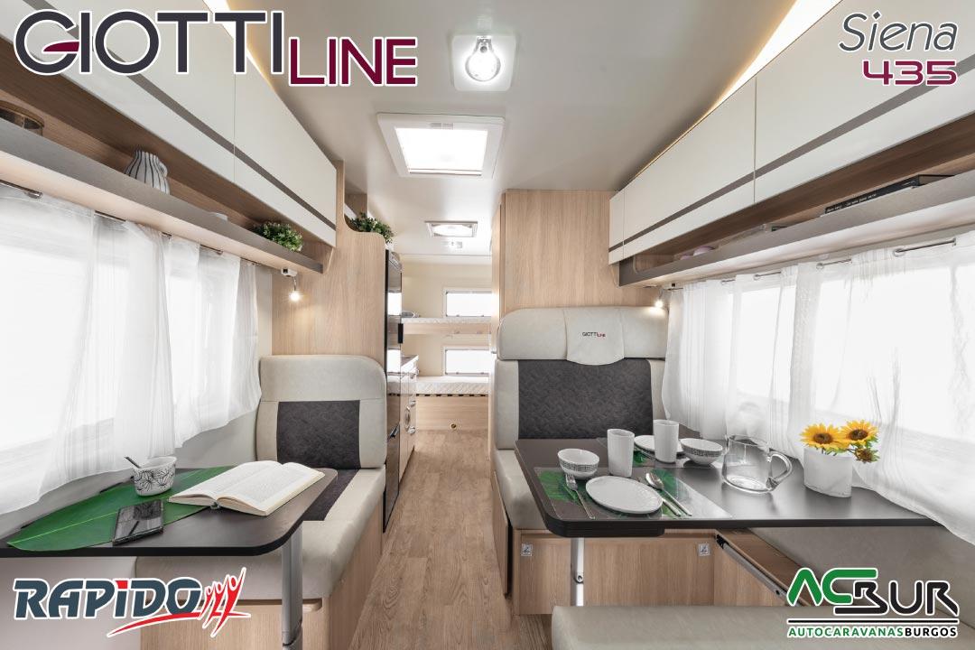 GiottiLine Siena 435 2022 interior