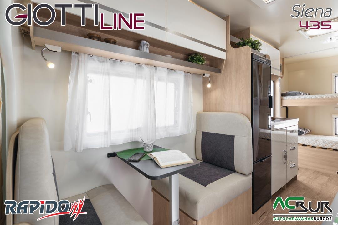 GiottiLine Siena 435 2022 comedor