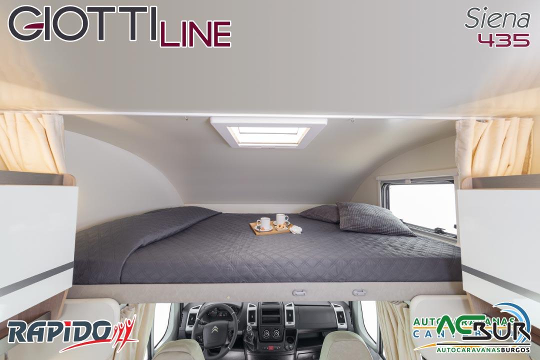 GiottiLine Siena 435 2022 cama basculante