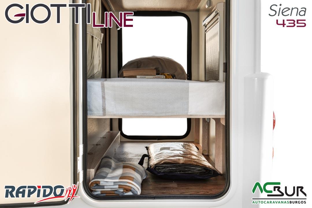GiottiLine Siena 435 2022 garaje
