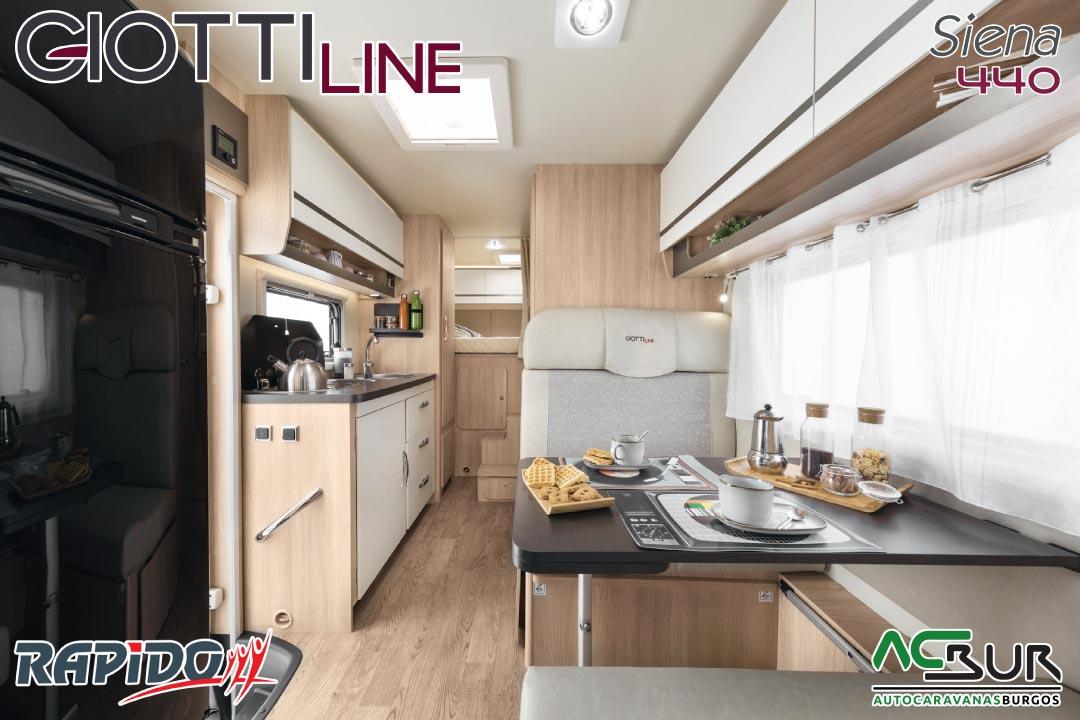 GiottiLine Siena 440 2022 interior