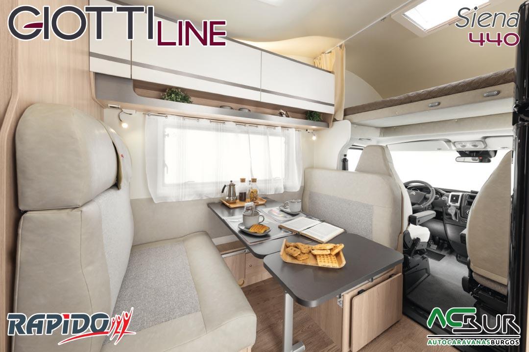 GiottiLine Siena 440 2022 comedor