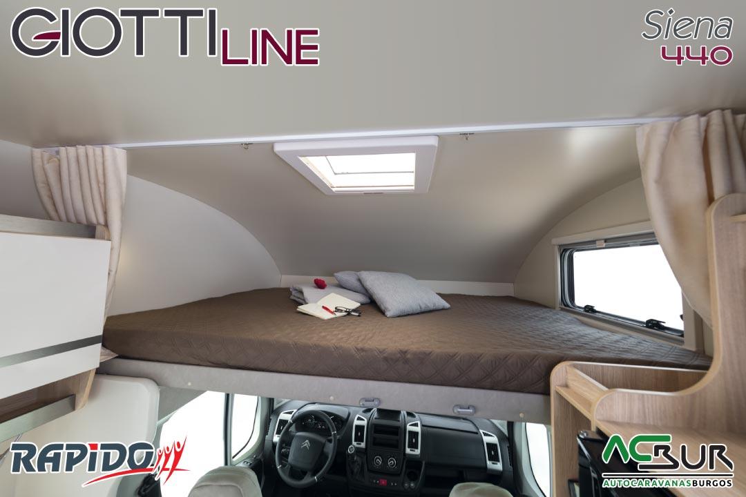 GiottiLine Siena 440 2022 cama basculante