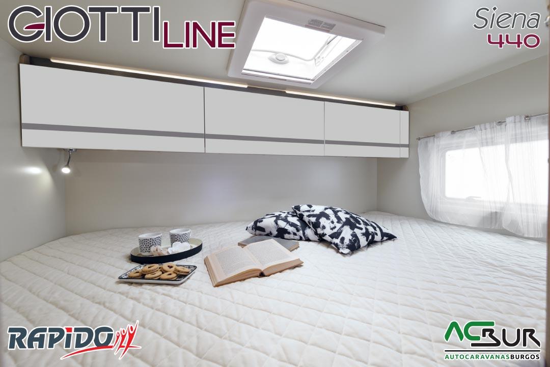 GiottiLine Siena 440 2022 dormitorio
