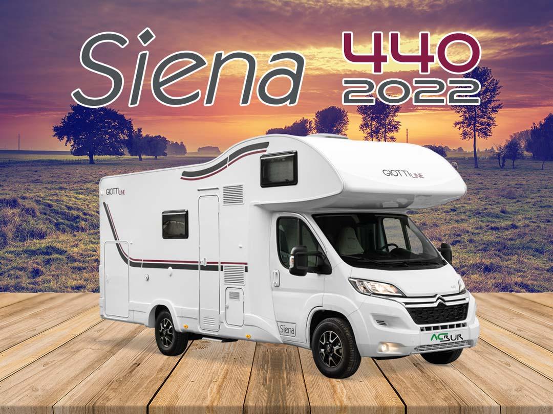 GiottiLine Siena 440 2022 portada