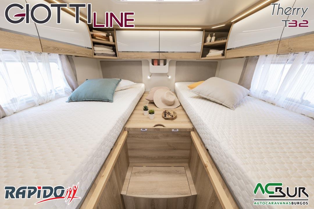 GiottiLine Therry T32 2022 dormitorio