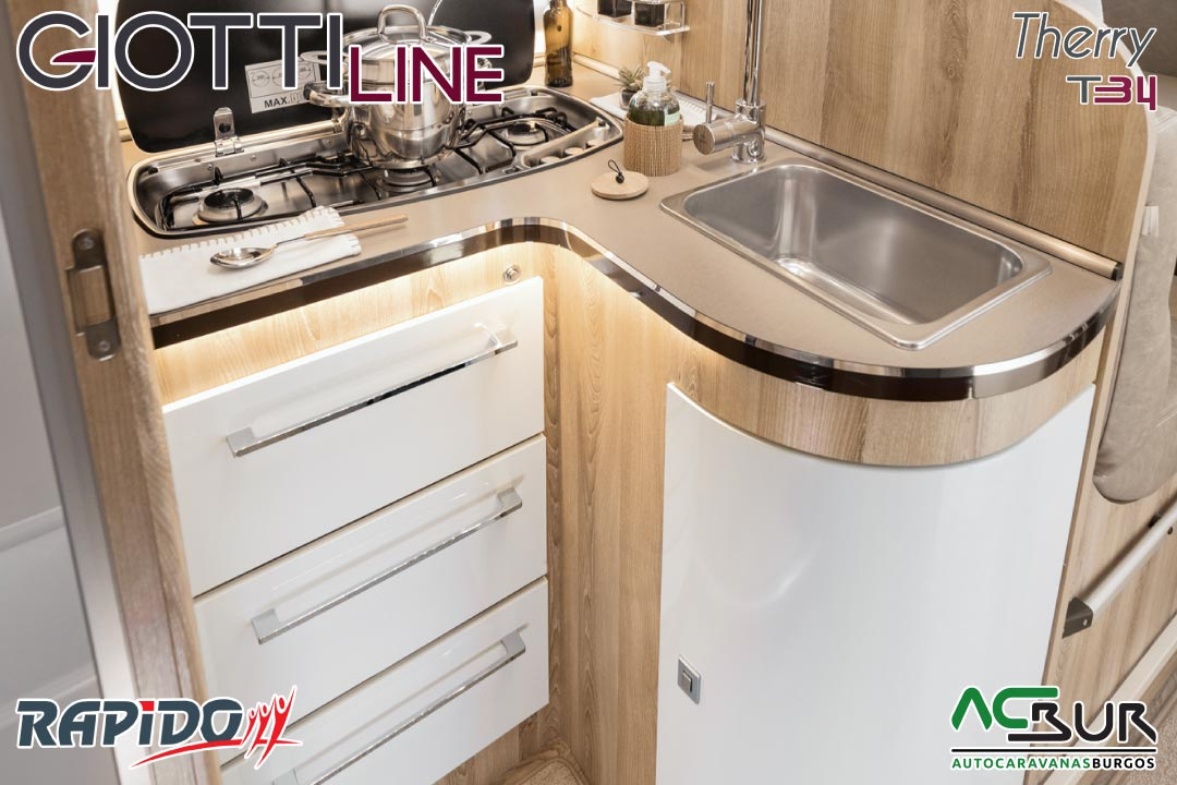 GiottiLine Therry T34 2022 cocina