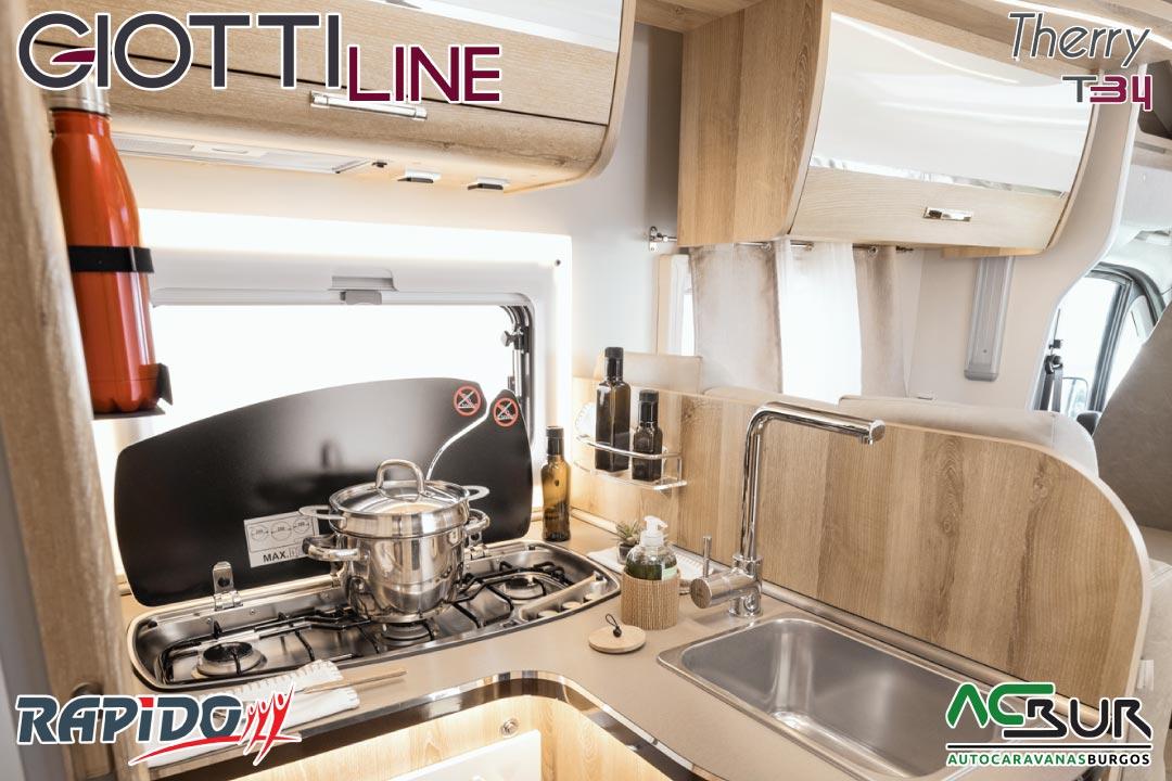 GiottiLine Therry T34 2022 cocina 2