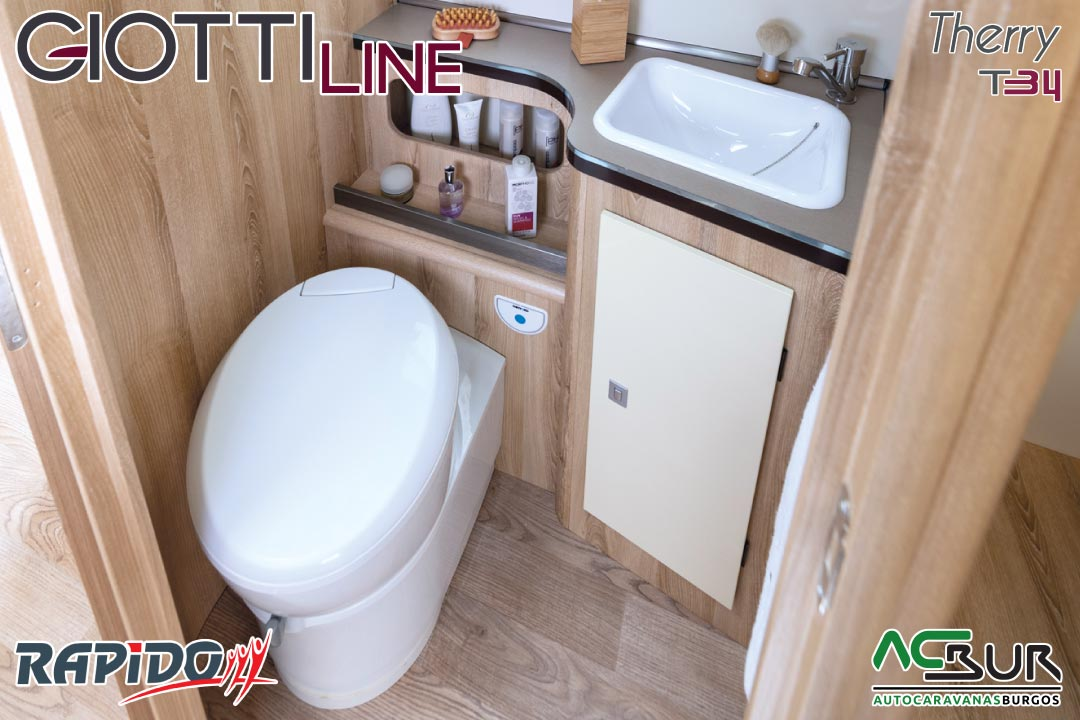 GiottiLine Therry T34 2022 baño