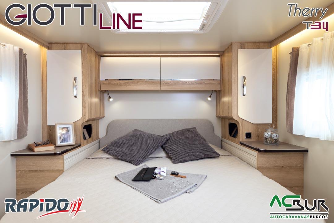 GiottiLine Therry T34 2022 dormitorio