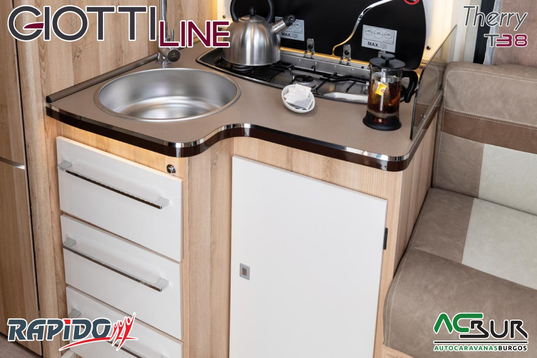 GiottiLine Therry T38 2022 armarios inferiores cocina